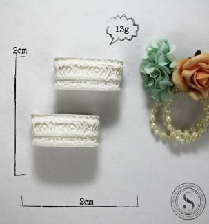Aplique Resina Vasos - BP 022 - Sandra Gotardo