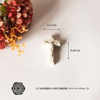 Aplique Resinha Cruz - ES073 - Sandra Gotardo