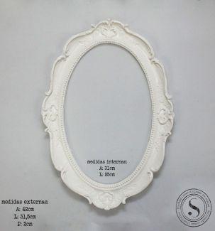 Moldura Oval - MOG 002