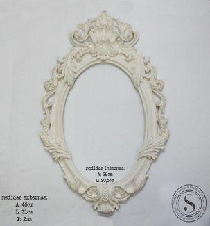 Moldura Oval - MOG 006