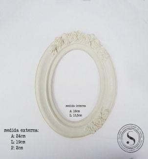 Moldura Oval - MOM 008