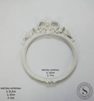 Moldura Oval - MOM 011