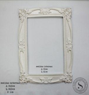 Moldura Quadrada - MQG 006