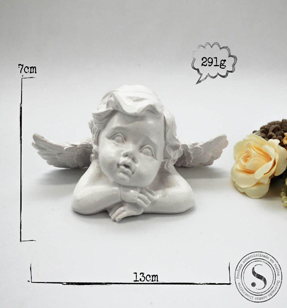 Aplique Resina Anjo - AS 001 - Sandra Gotardo