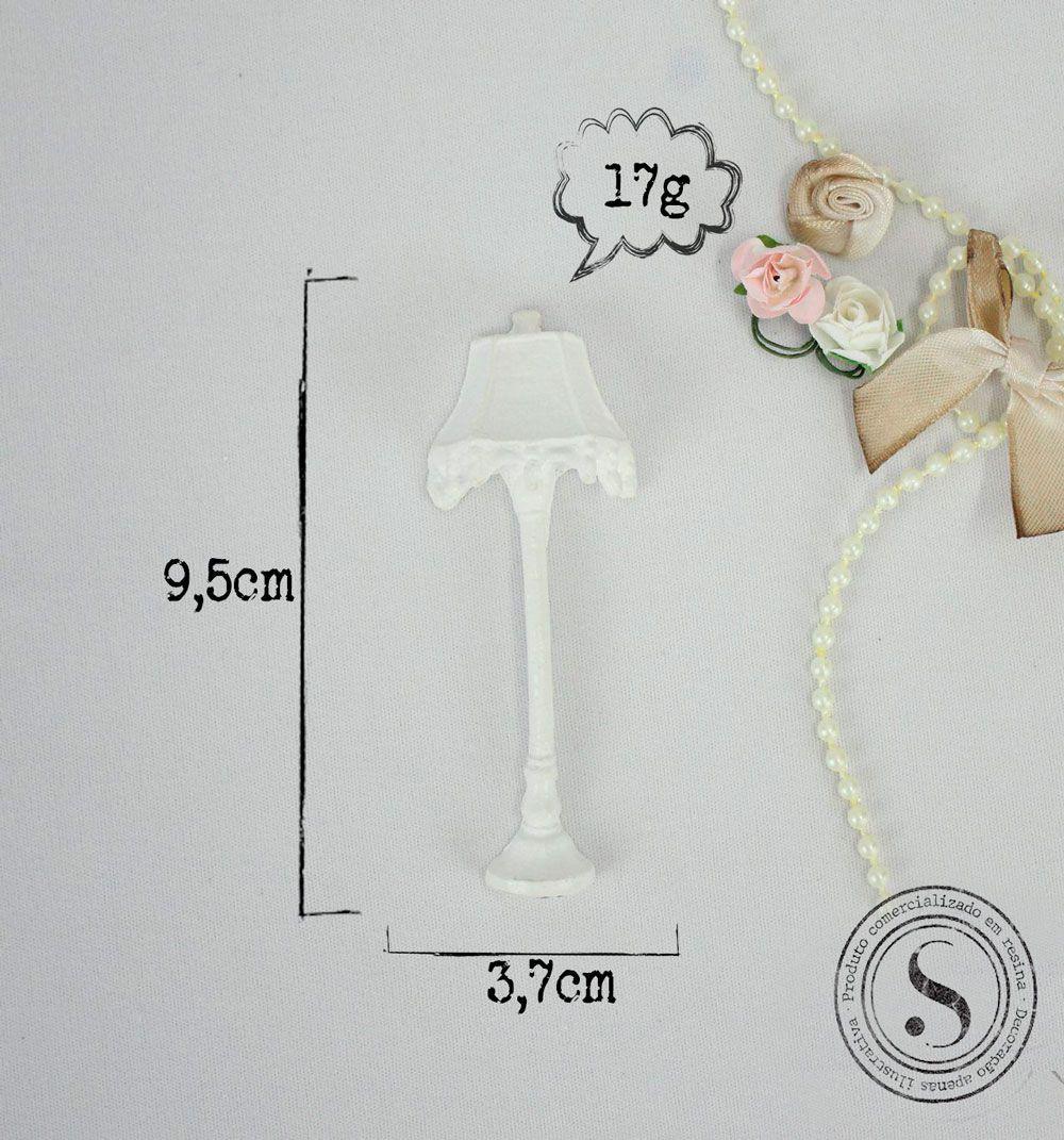 Aplique Resina Aplique Abajur Vertical 9,5x3,7x2,3 - resina   BP 012 - Sandra Gotardo