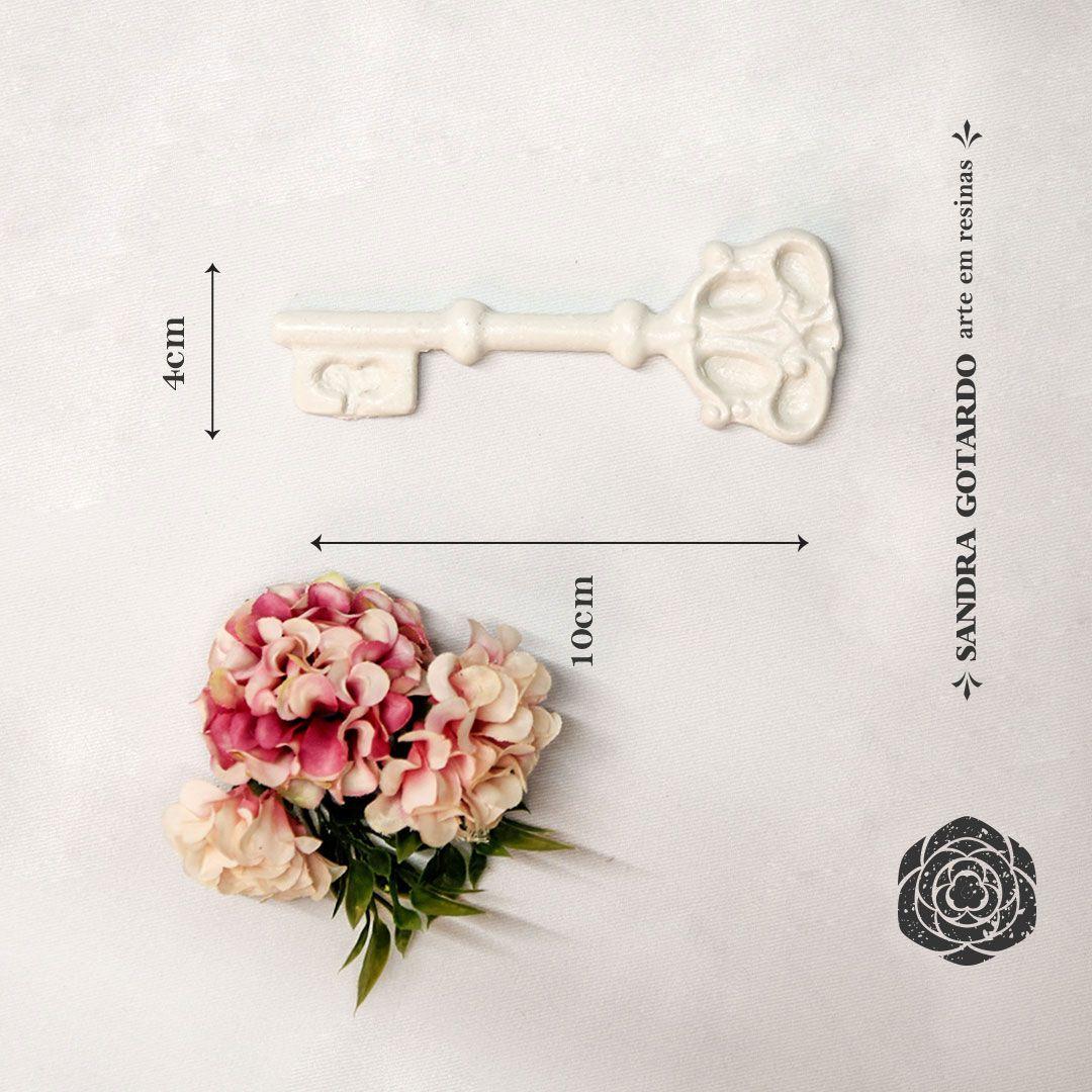 Aplique Resina Aplique chave colonial - CHA 006 - Sandra Gotardo