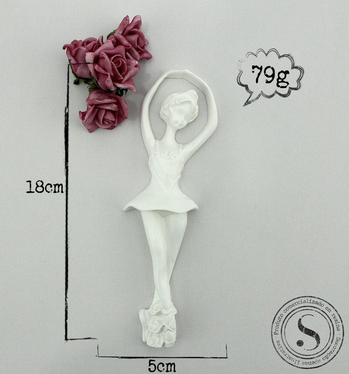 Aplique Resina Bailarina - BA001 - Sandra Gotardo