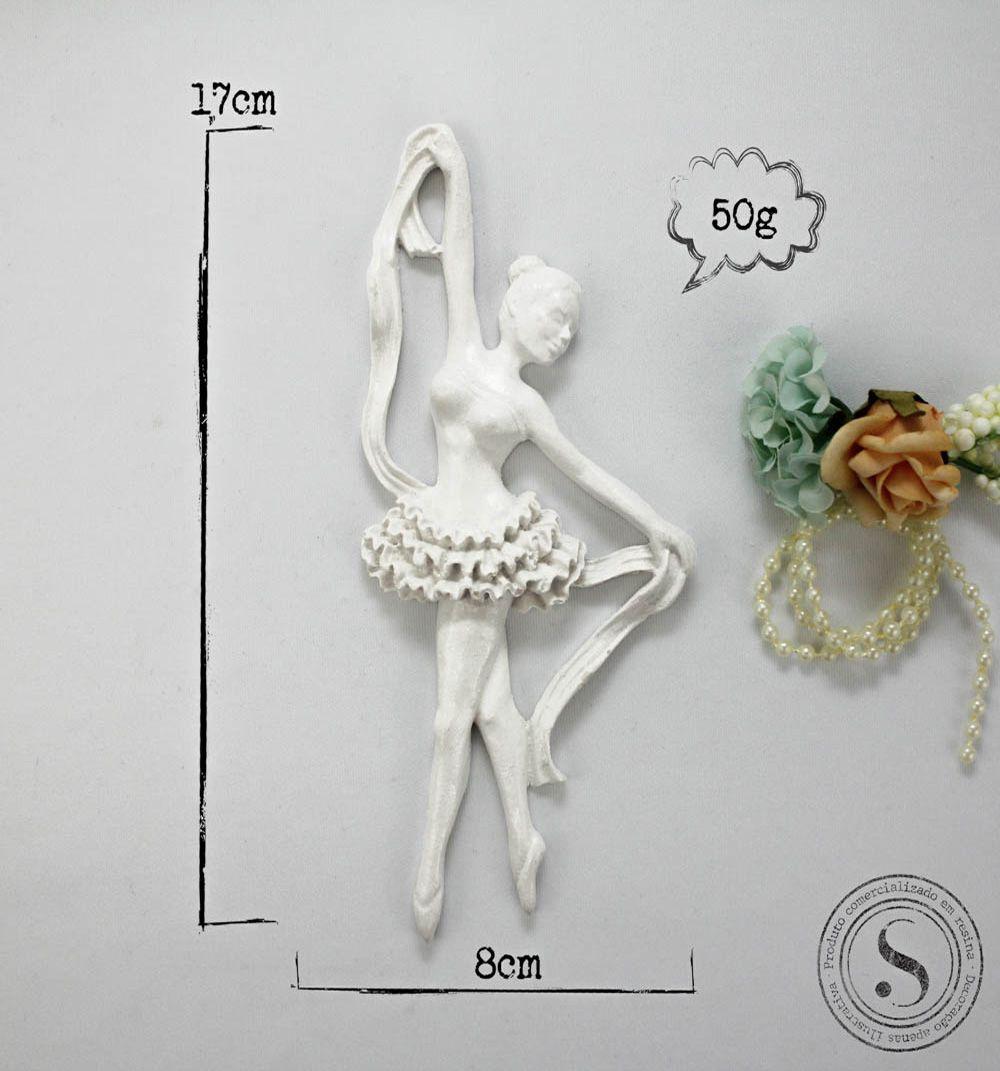 Aplique Resina Bailarina - BA 002 - Sandra Gotardo