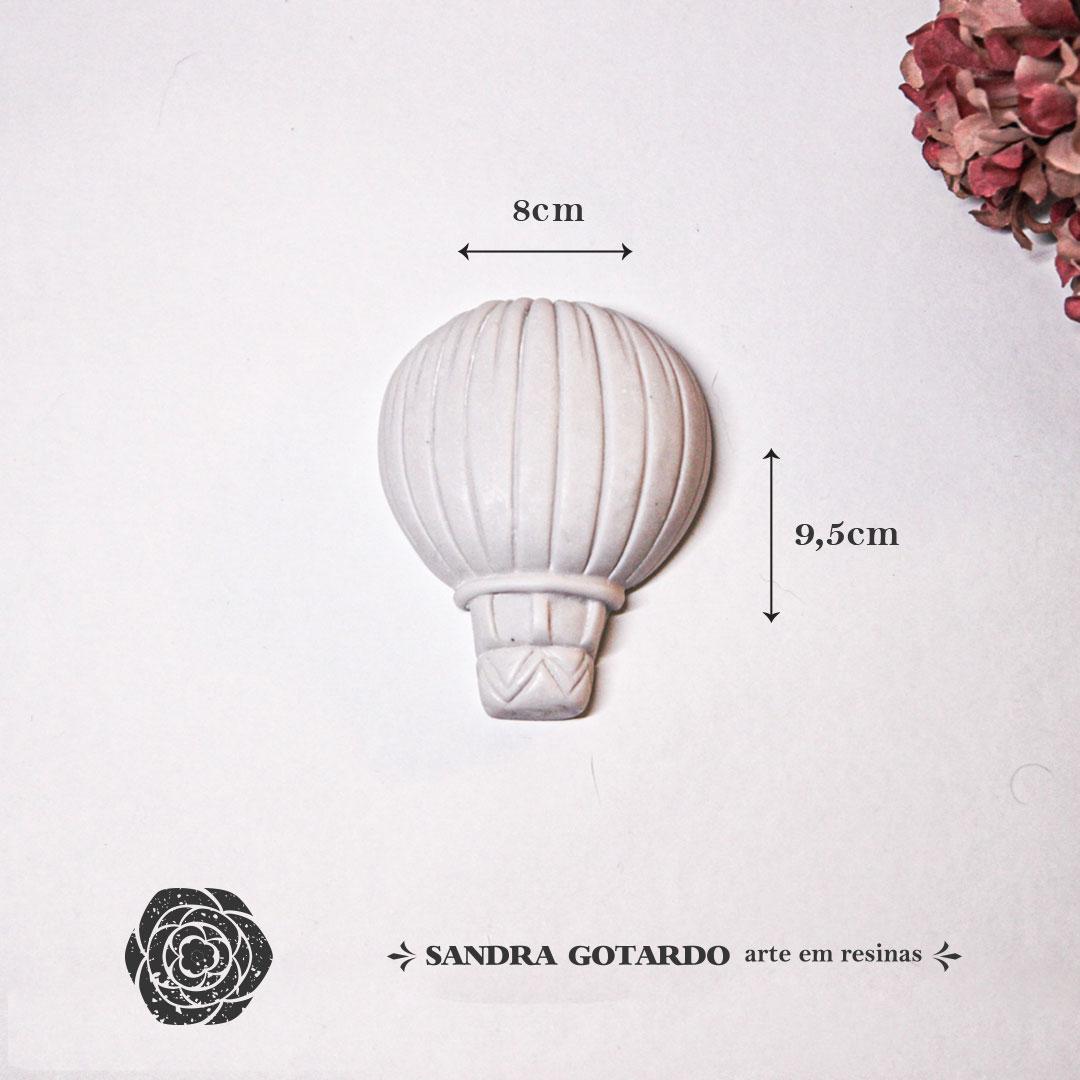Aplique Resina Balao - AI050 - Sandra Gotardo