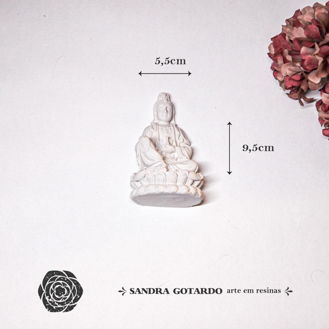 Aplique Resina Buda -DC015 - Sandra Gotardo