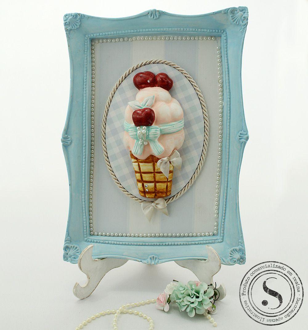 Aplique Resina Cupcake - CZ001 - Sandra Gotardo
