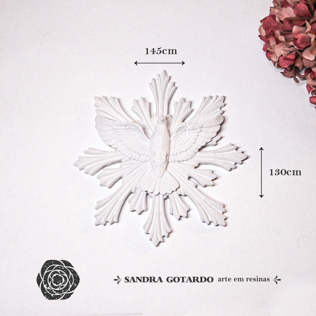 Aplique Resina Espirito Santo- ES050 - Sandra Gotardo