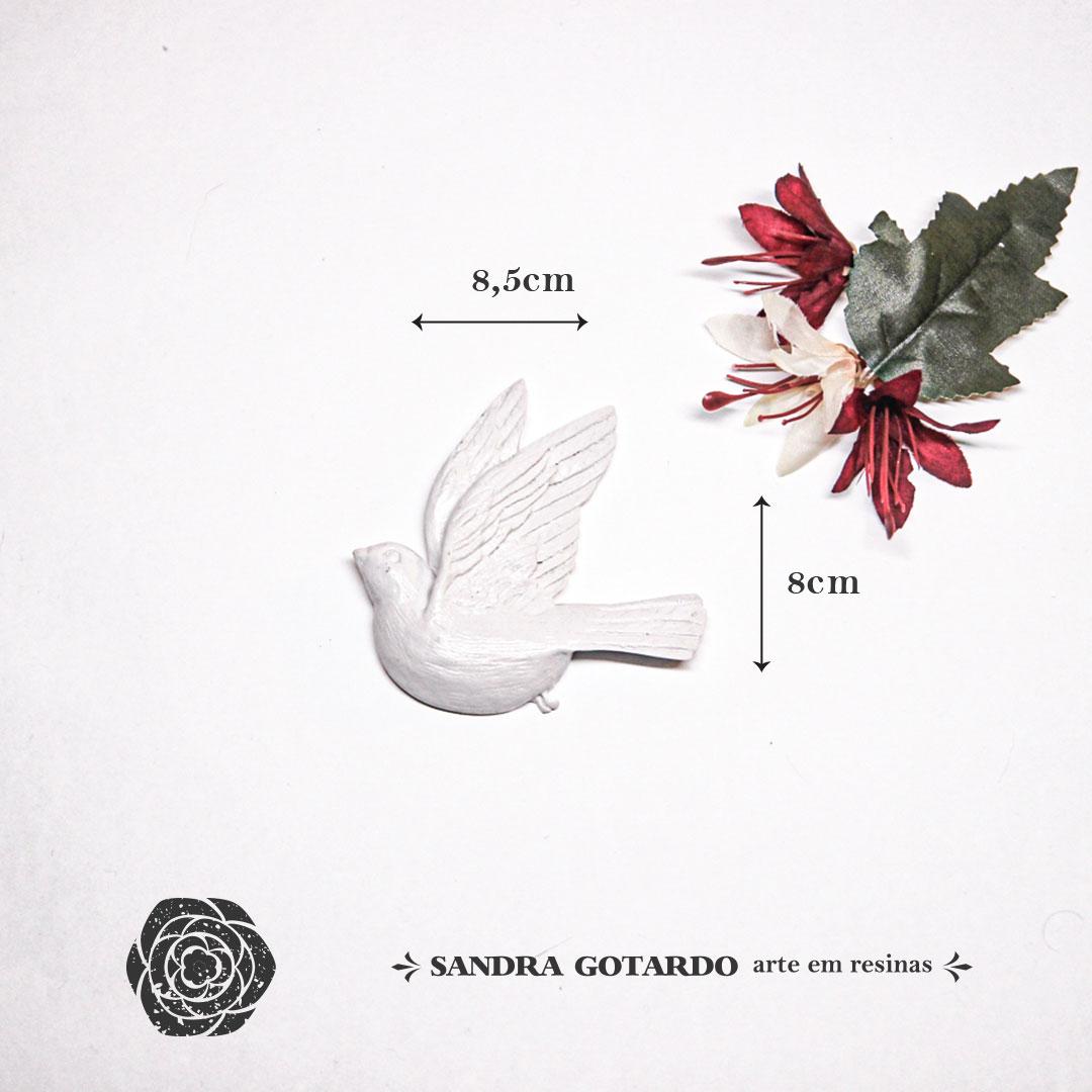 Aplique Resina Espirito Santo - ES052 - Sandra Gotardo