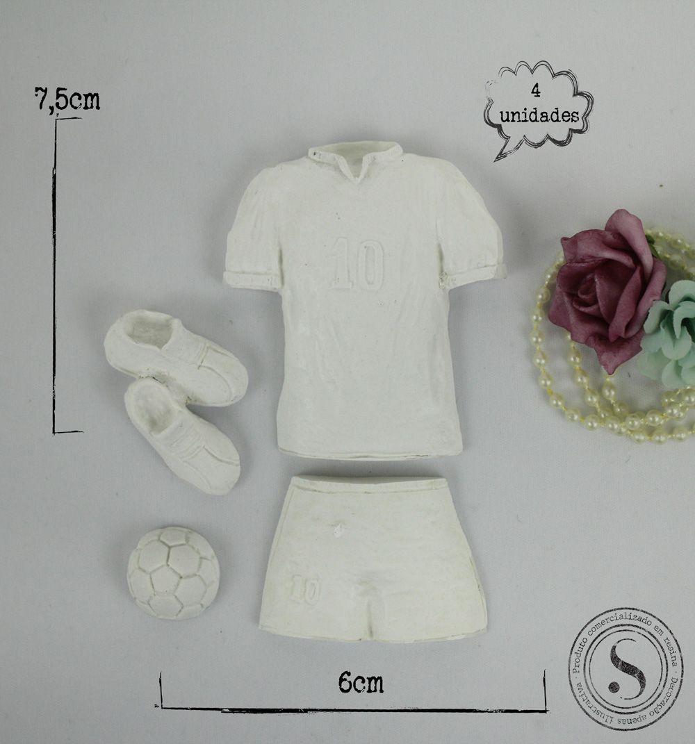Aplique Resina Kit Esportivo - BP060- Sandra Gotardo