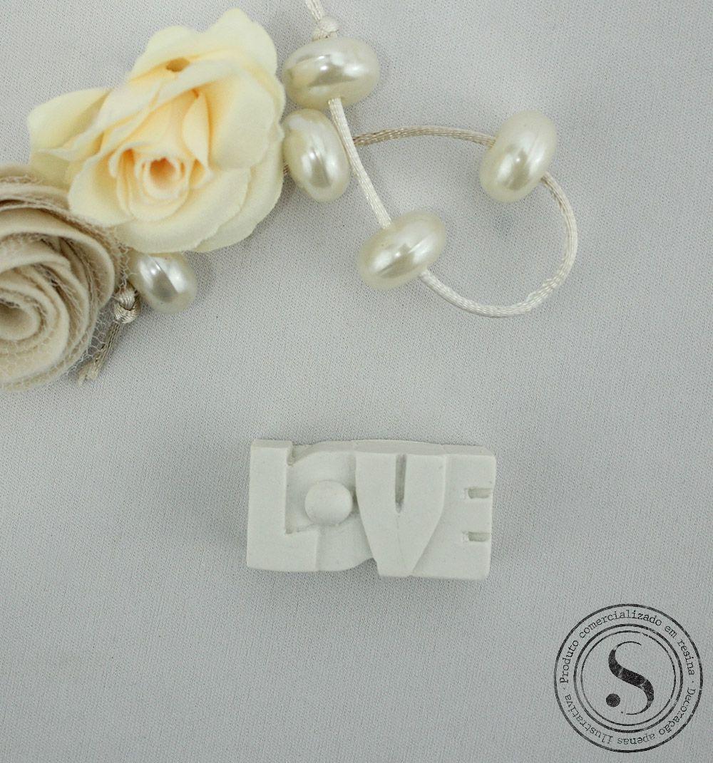 Aplique Resina Love Letras P - DLV002 - Sandra Gotardo