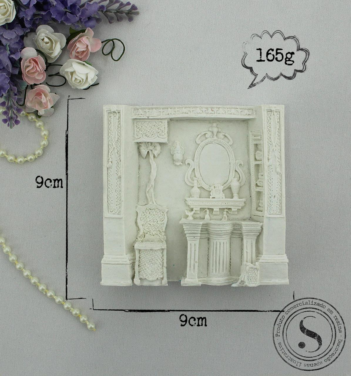 Aplique Resina Mini Banheiro -  BP004 - Sandra Gotardo