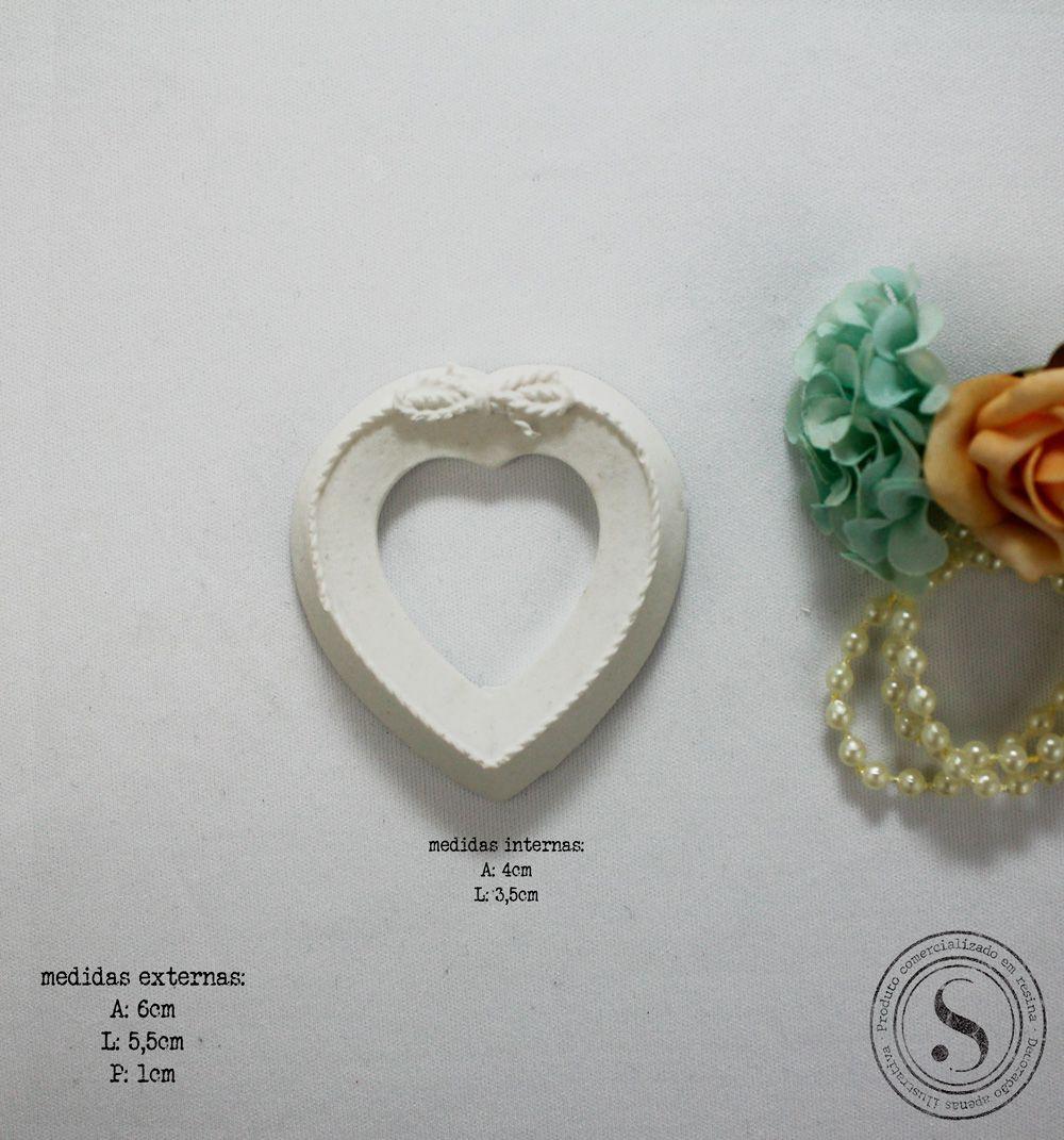 Aplique Resina Moldura Oval - MO016 - Sandra Gotardo