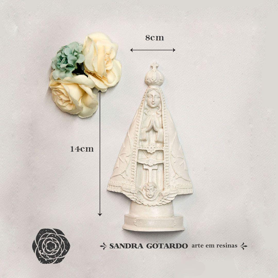 Aplique Resina  Nossa senhora Aparecida G 1 - ES042 - Sandra Gotardo