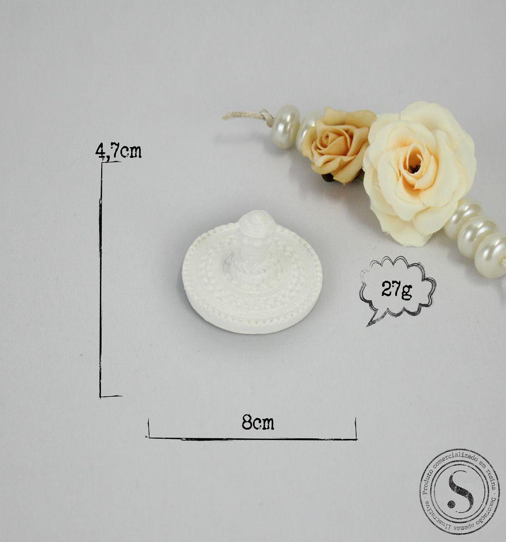 Aplique Resina Puxadores - PX004 - Sandra Gotardo