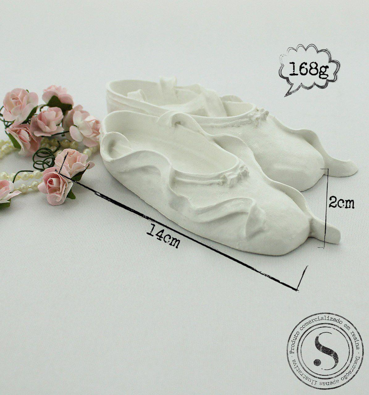 Aplique Resina Sapato de Bailarina - SA 001 - Sandra Gotardo