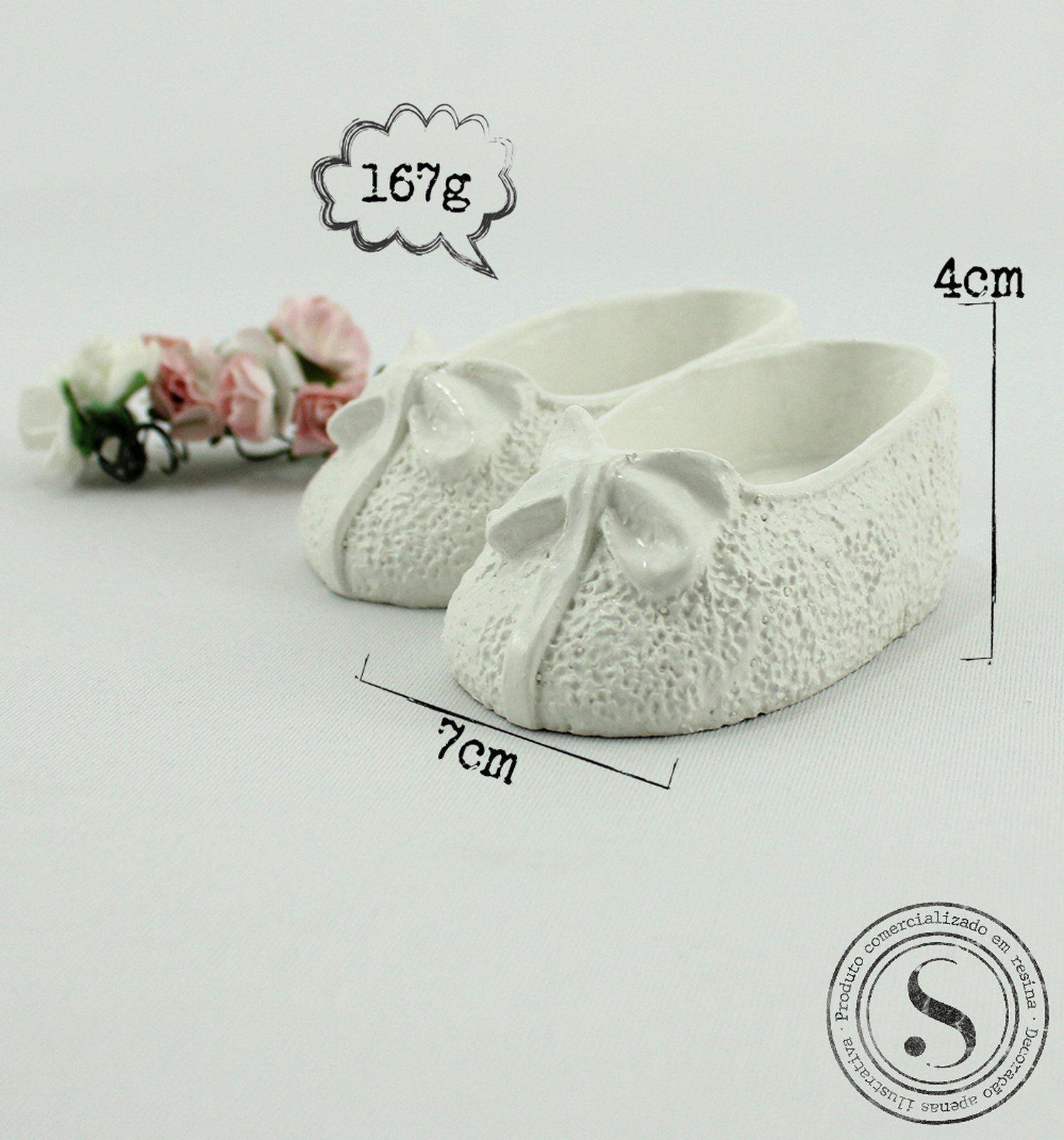 Aplique Resina Sapato de Lacinho - SP001 - Sandra Gotardo