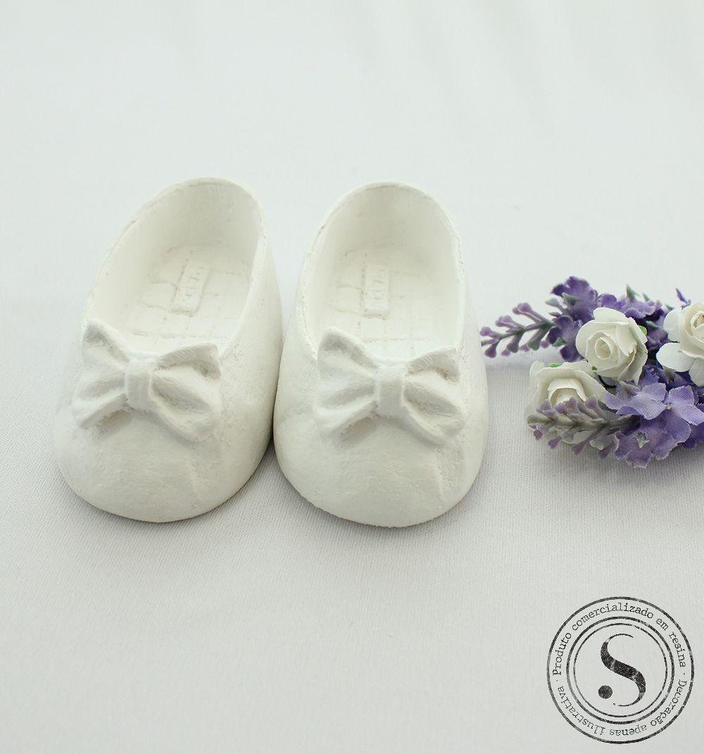 Aplique Resina Sapato Lacinho - SP003 - Sandra Gotardo