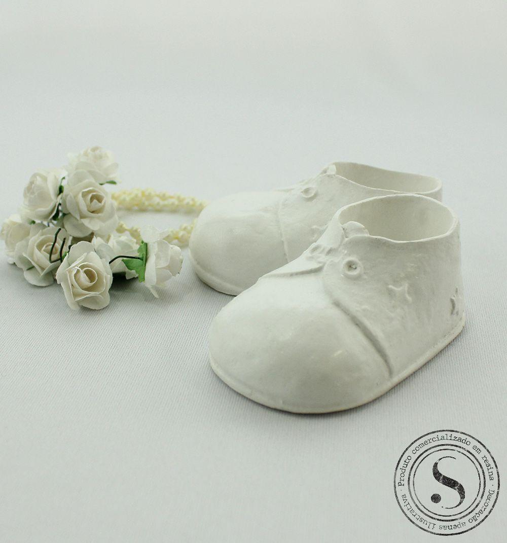 Aplique Resina Sapato  Menino - SP007 - Sandra Gotardo