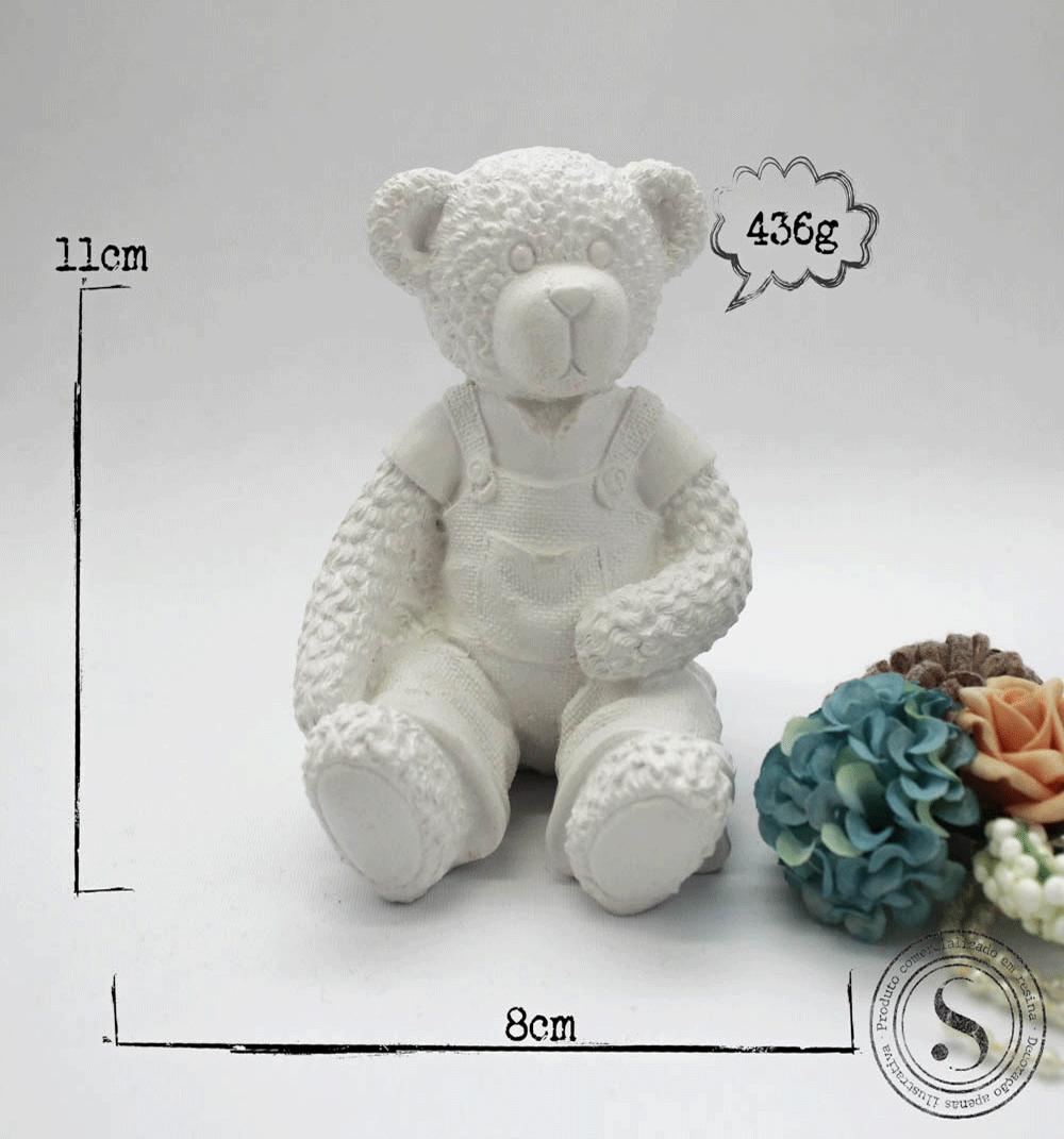 Aplique Resina Urso - UR011 - Sandra Gotardo