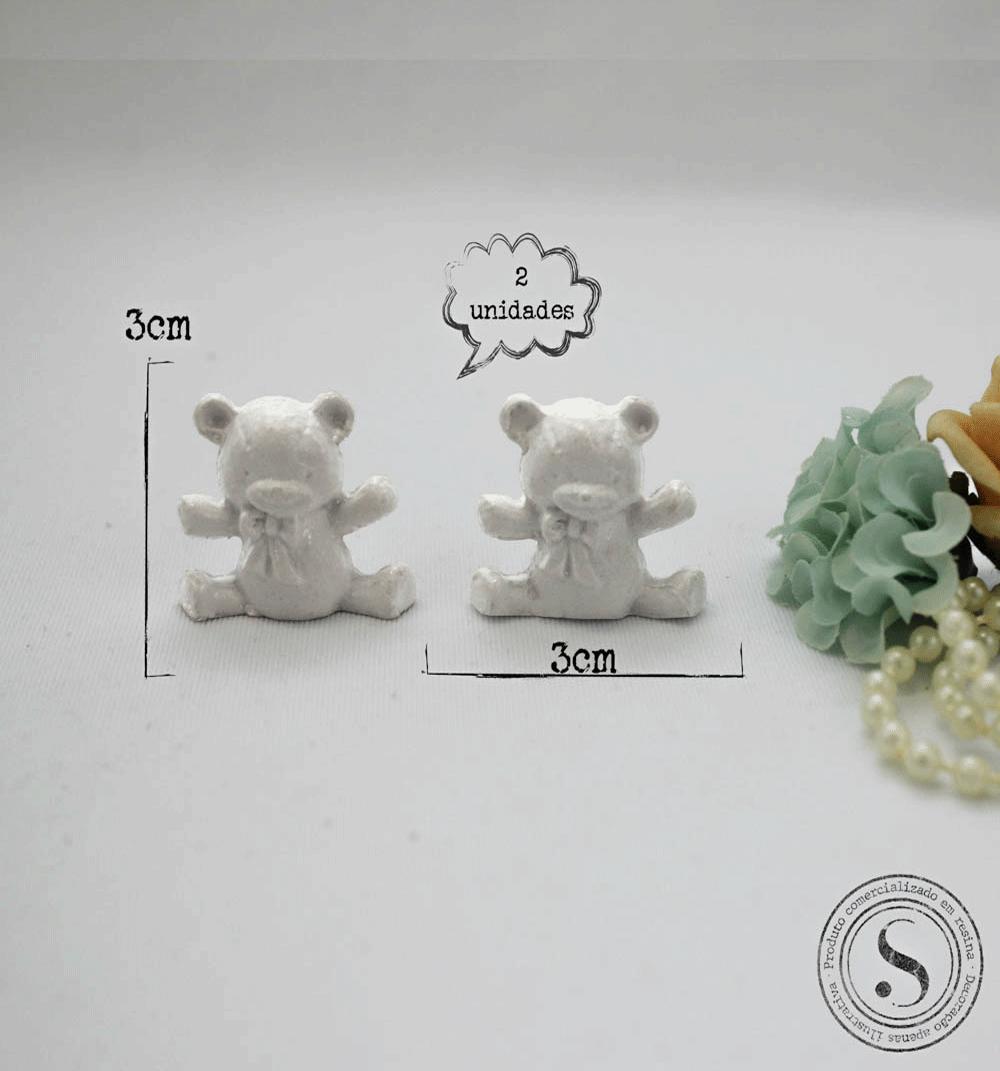 Aplique Resina Ursos - UR016 - Sandra Gotardo