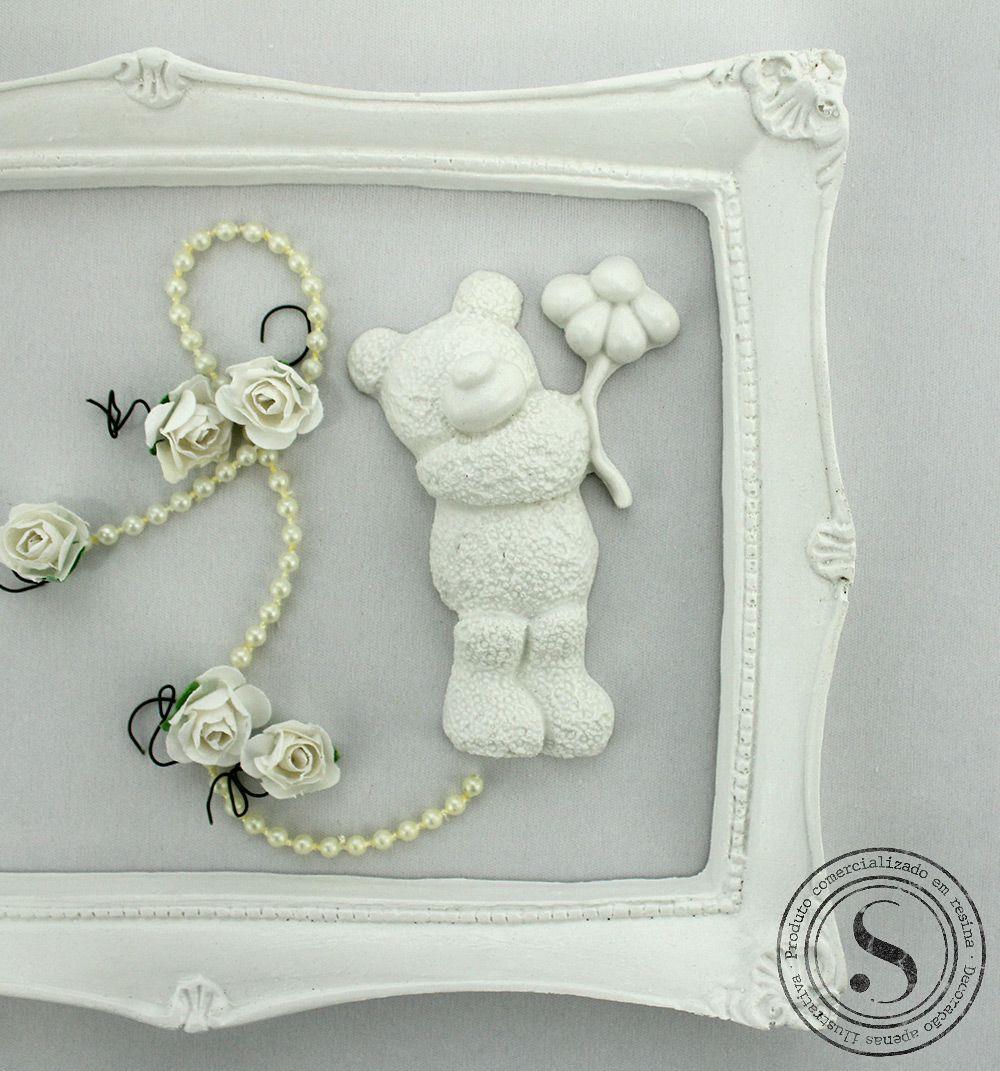 Aplique Resina Ursos - UR 001 - Sandra Gotardo