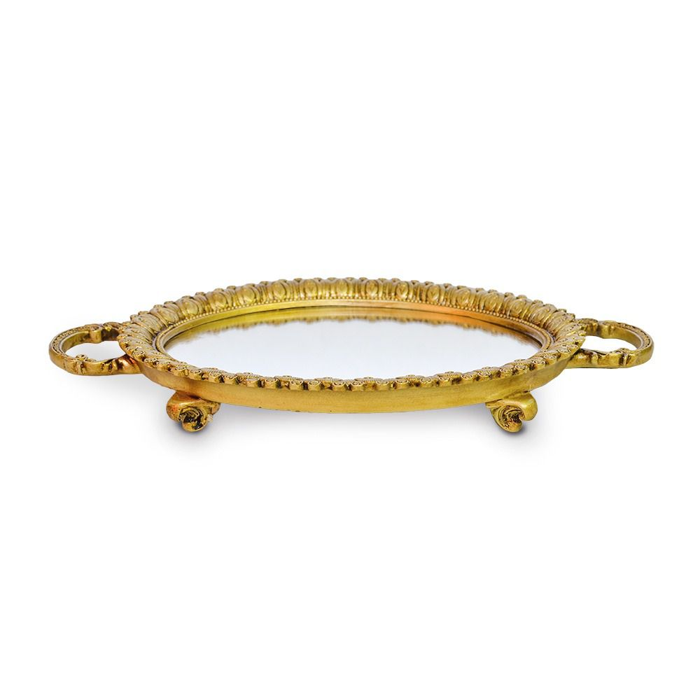 bandeja redonda dourada resinada Charlot05