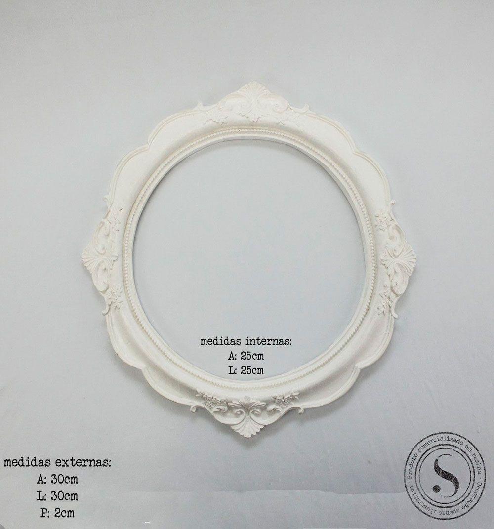 Moldura Oval - MOG 004
