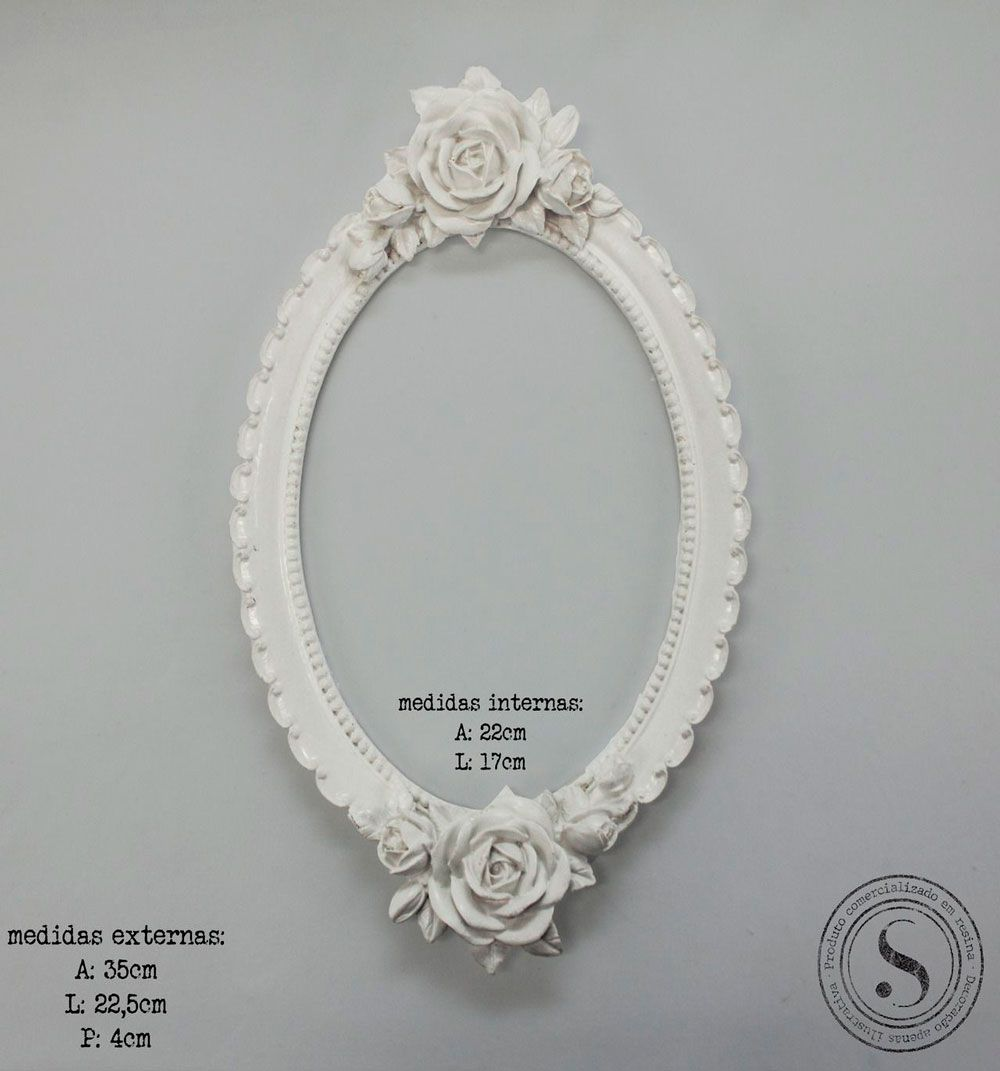 Moldura Oval -  MOG 005