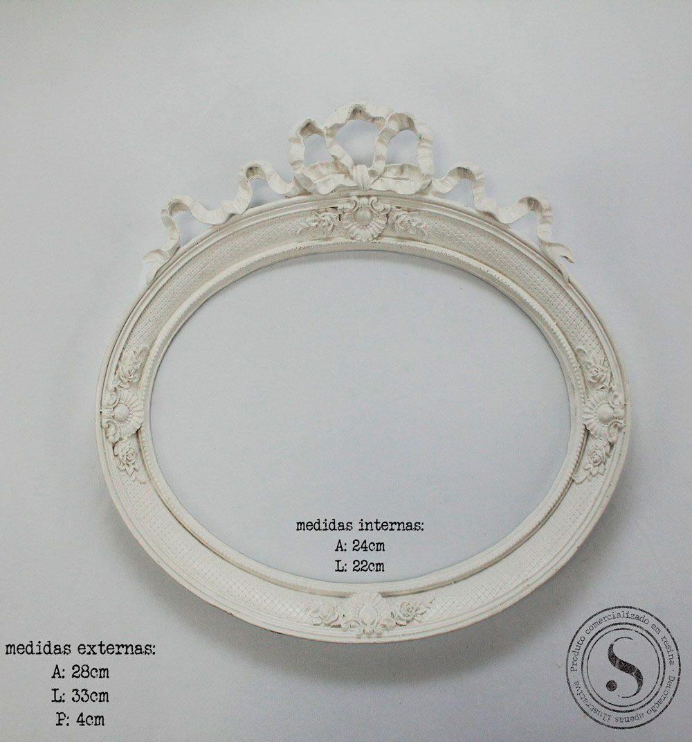 Moldura Oval - MOM 007