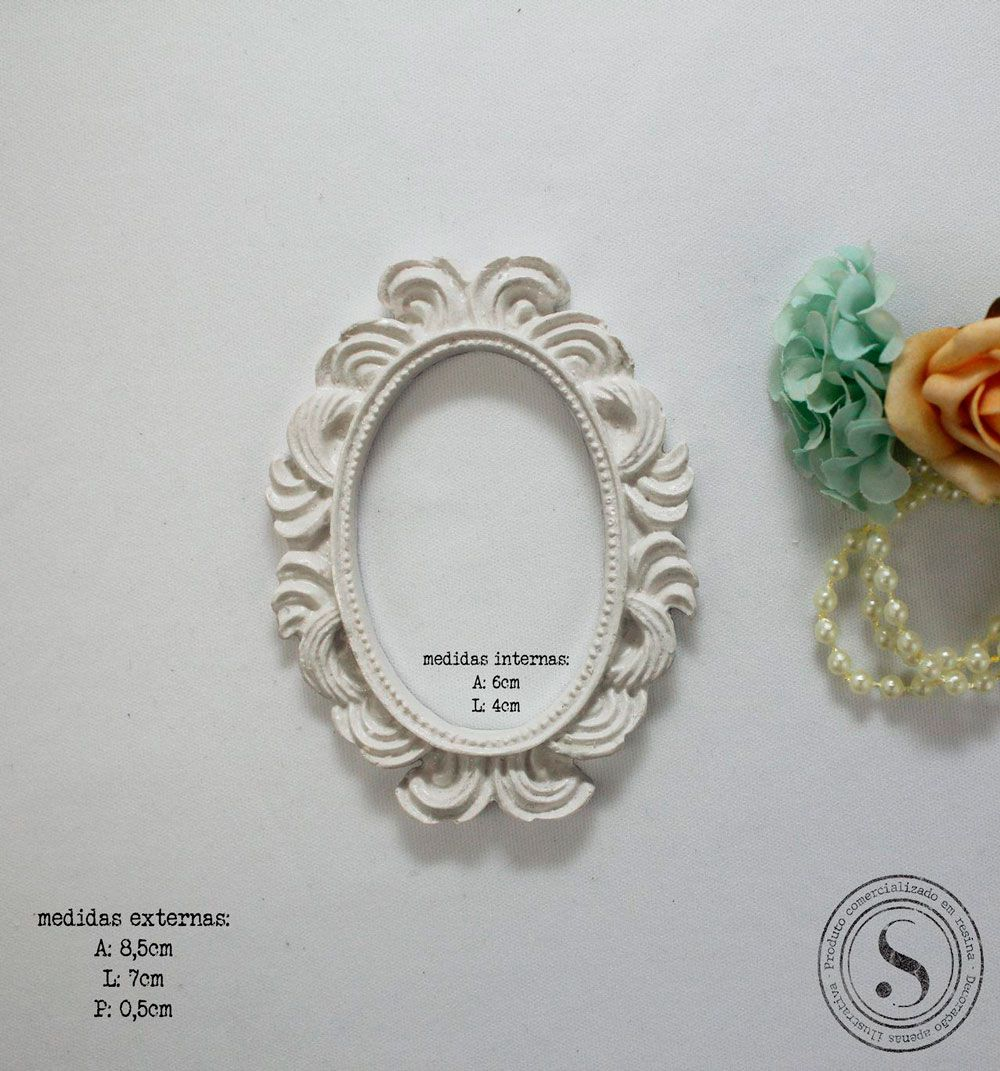 Moldura Oval - MOP 013