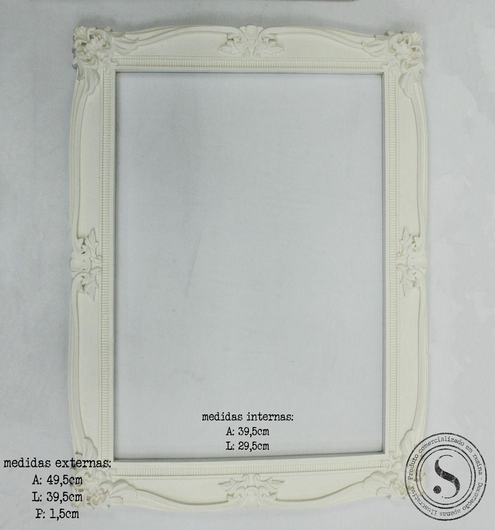Moldura Quadrada - MQG015