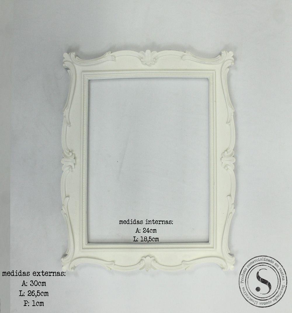 Moldura Quadrada - MQG017