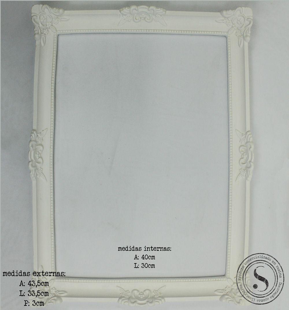 Moldura Quadrada - MQG018