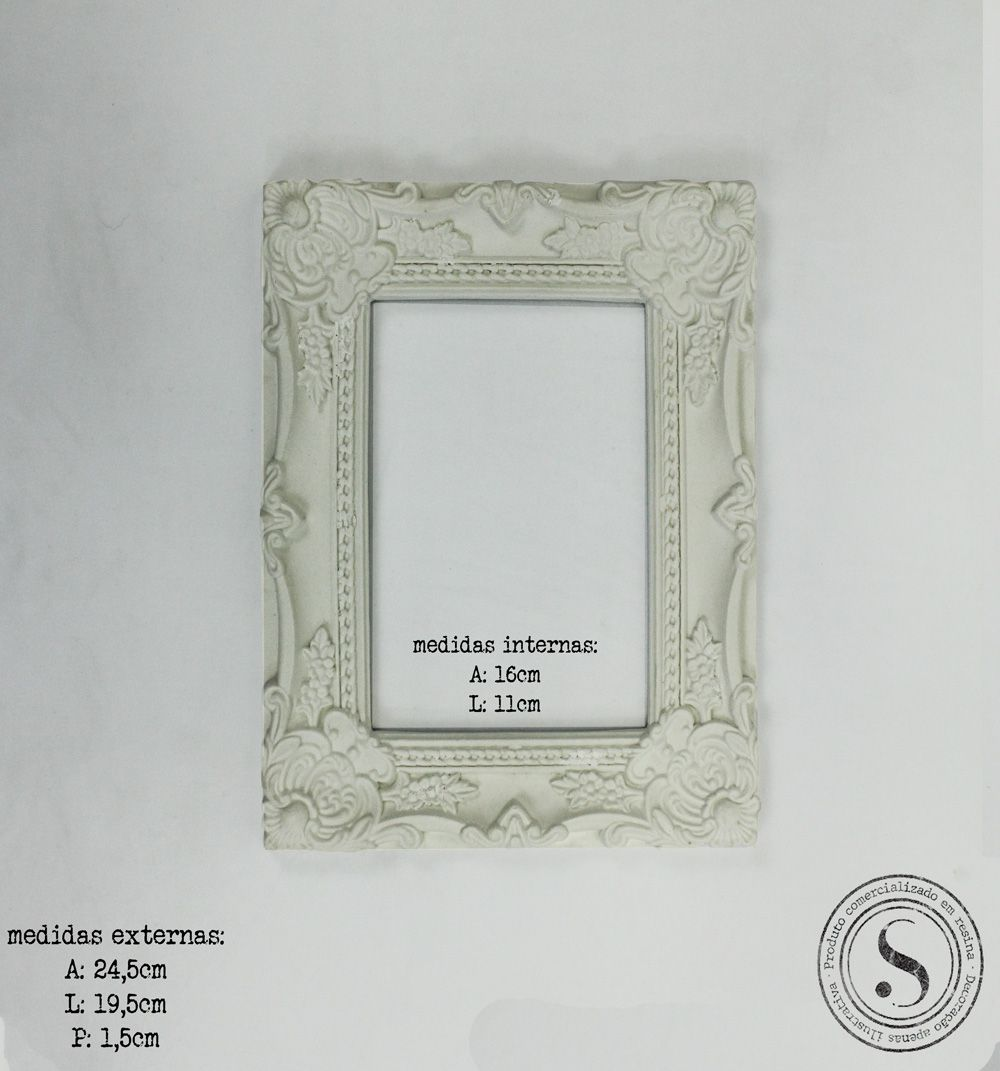 Moldura Quadrada - MQM016