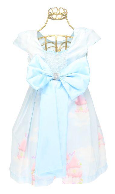 f93bc02c9f Vestido Festa Infantil Cinderela Castelo Encantado Mc81646 - ENCANTAKID  COMERCIO