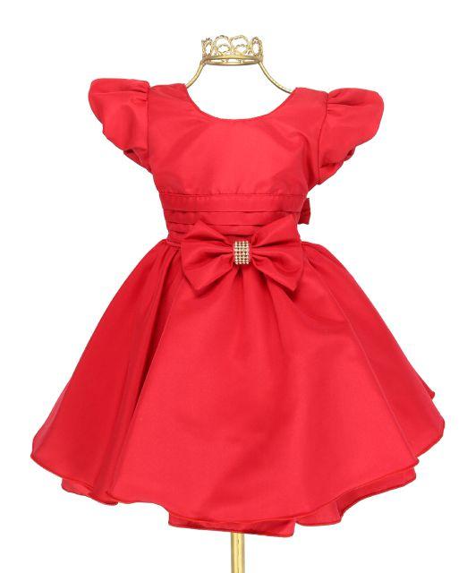a81e10d076 Vestido Festa Infantil Mônica Batizado Casamento Niverl11320 ...