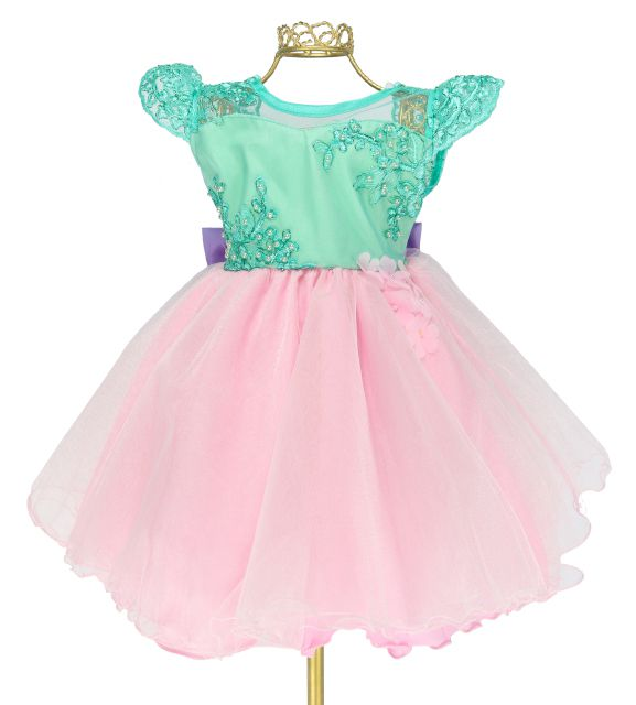 8c9422d2d2 Vestido Festa Infantil Princesa Sereia Ariel Luxo Mc81715 ...