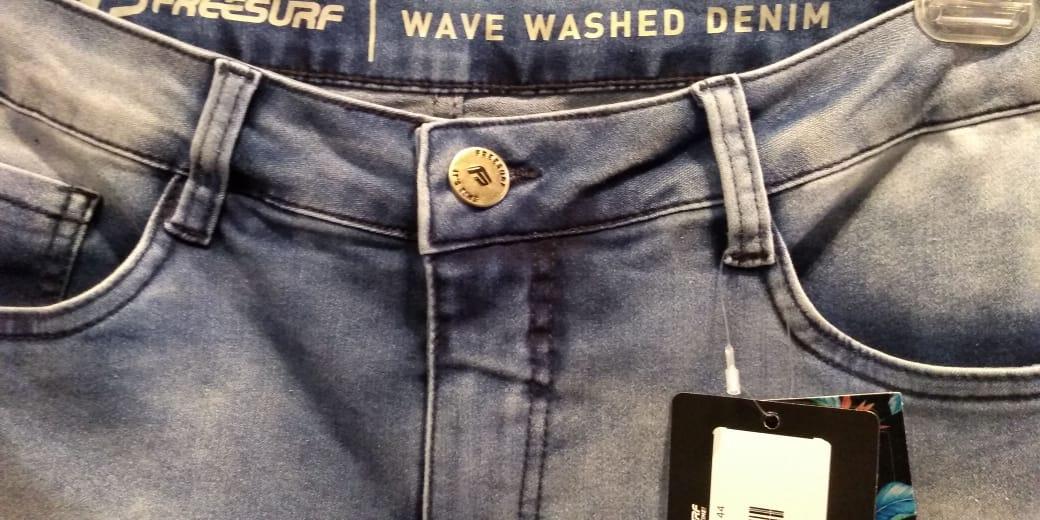 Calça Jeans Freesurf Ondas Estonado110801510