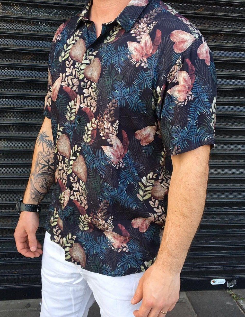 Camisa De Botões Estampada Freesurf Emoção