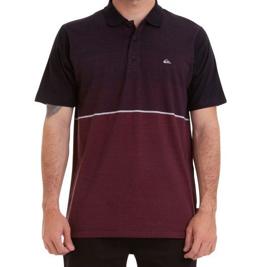 Camisa Polo Quiksilver Single Stripe
