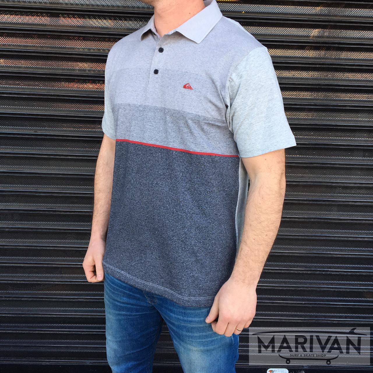 Camisa Polo Quiksilver Single Stripe