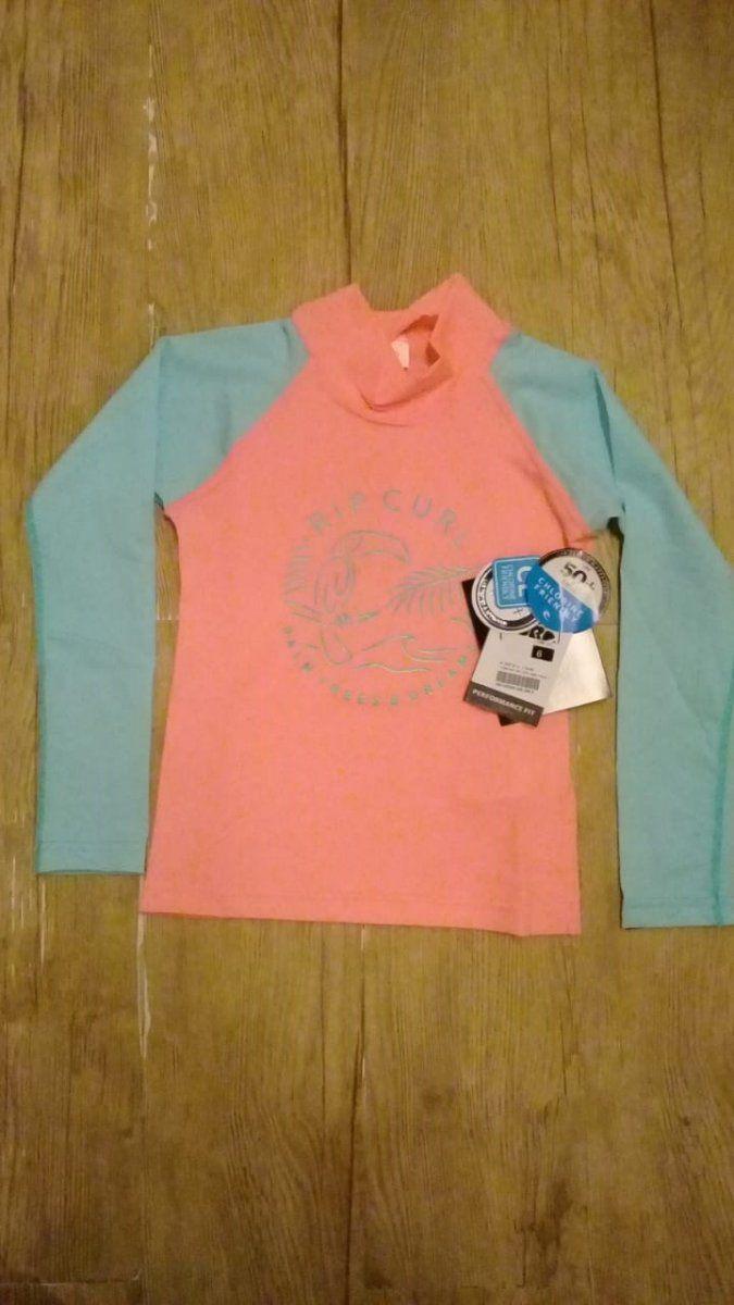 Camiseta de Lycra Rip Curl Mini Palm Infantil