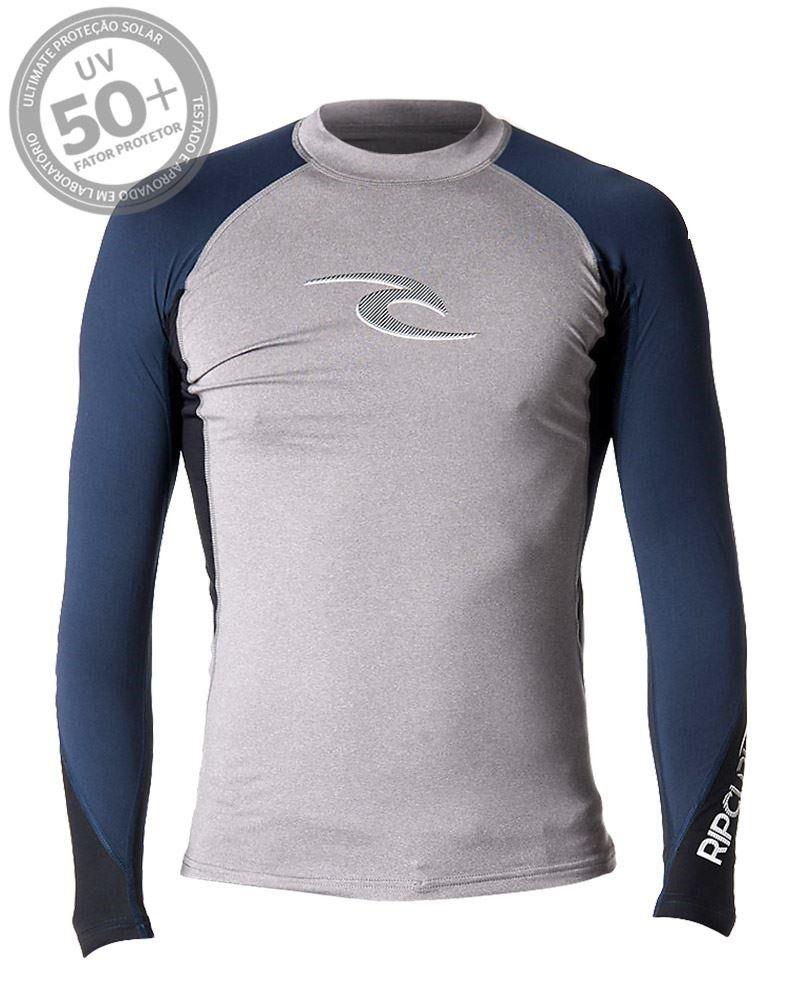 Camiseta de Lycra Rip Curl Wave 50+ UV Manga Longa