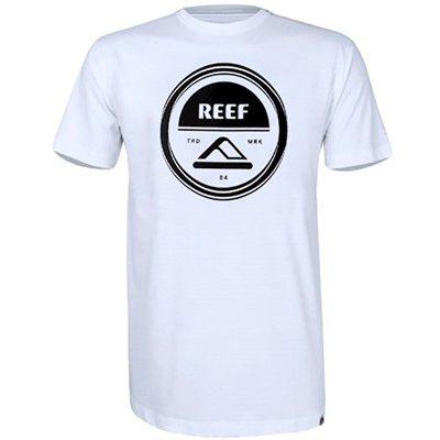 Camiseta Reef Aspiral Branco