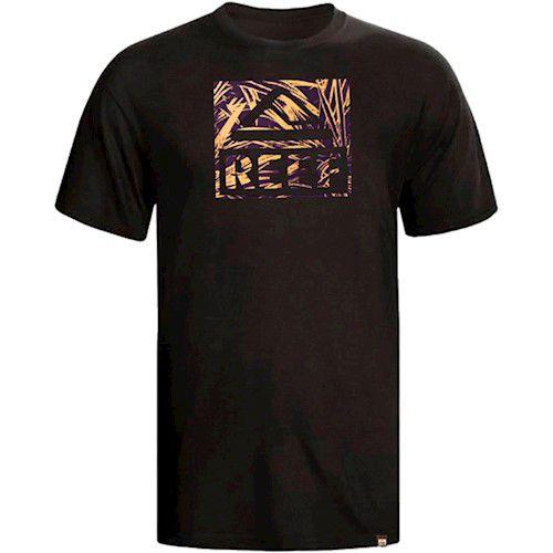 Camiseta Reef Tropical Preto